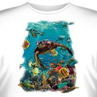 Футболка Art_Brands «Turtle» (Черепаха в море, 09958)