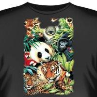 Футболка Art_Brands «Panda Collage» (Коллаж панды, 00006)