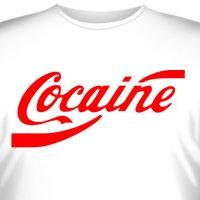 """Футболка """"Cocaine"""""""