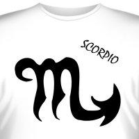 """Футболка со знаком зодиака """"Скорпион"""" (3)"""
