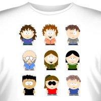 """Футболка """"South Park (Южный Парк) -10"""""""