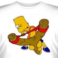 """Футболка  """"Bart Simpson -2 """""""