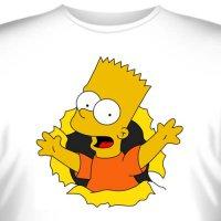"""Футболка  """"Bart Simpson -3 """""""