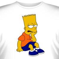 """Футболка """"Bart Simpson -4"""""""