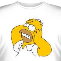 """Футболка """"Homer Simpson -3"""""""