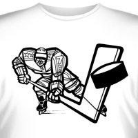 """Футболка  """"Хоккей -2 """" купить в интернет-магазине, цена."""