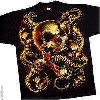 """Футболка """"Skeletal Snakes"""" (США)"""