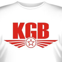 """Футболка """"KGB"""""""