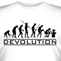 "Футболка ""Devolution"""