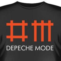 """Футболка """"Depeche Mode 1"""""""