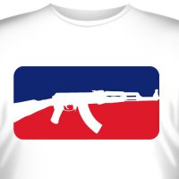 "Футболка ""АК-47 флаг"""