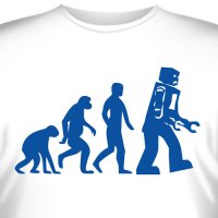 "Футболка ""Robot Evolution"""