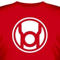 Футболка «Red lantern»