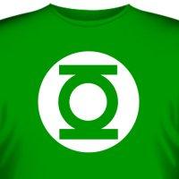 Футболка Шелдона «Green Lantern»