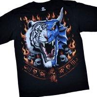 "Футболка ""Tiger Dragon Face"" (США)"