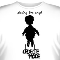"Футболка ""Depeche Mode - Playing The Angel"""