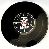 """Часы-пластинка настенные """"Misfits"""""""