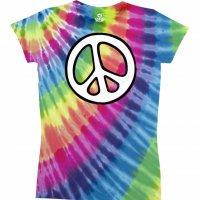 "Футболка женская ""Rainbow Peace"" (США)"