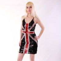 "Платье  ""Британский флаг """