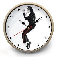 """Часы настенные """"Michael Jackson (Майкл Джексон)"""""""