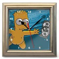 "Часы настенные ""Барт Симпсон"" (2)"