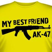 "Футболка ""My Best Friend AK-47"""