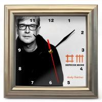 "Часы настенные ""Depeche Mode - Andy Fletcher"""