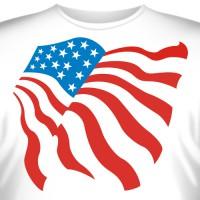 """Футболка """"Американский флаг"""""""