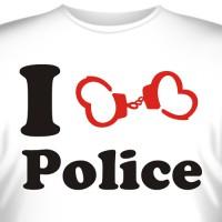 "Футболка ""I love Police"""