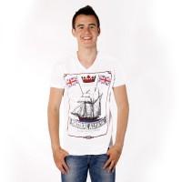 "Футболка MadMext ""Nautical almanac"" (white)"