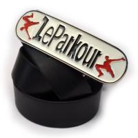 """Ремень с бляхой """"Le Parkour"""""""