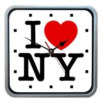 """Часы настенные """"I Love NY"""""""