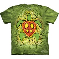 "Футболка The Mountain ""Rasta Peace Turtle"" (детская)"