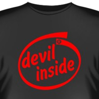 "Футболка ""Devil inside"""