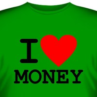 "Футболка ""I love money"""