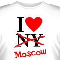 "Футболка ""I love moscow"" (2)"