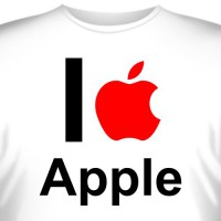 "Футболка ""I love apple"""