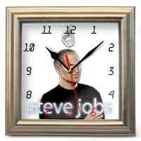"""Часы настенные """"Steve-Jobs"""" (4)"""