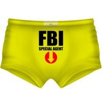 """Трусы мужские """"FBI - special agent"""""""