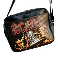 """Сумка горизонтальная """"AC / DC"""" -1"""