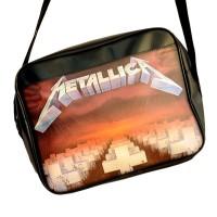 """Сумка горизонтальная """"Metallica"""" -1"""