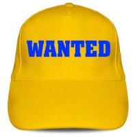 Кепка «Розыскивается (Wanted)»