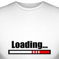 "Футболка для беременных ""Loading..."" (2)"