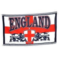 Флаг Англии (со львами)