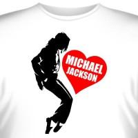"Футболка ""I love Michael Jackson"""