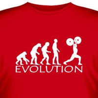 "Футболка ""Bodybilding Evolution"""