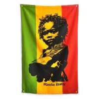 "Флаг ""Rasta Baby"""