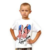 "Футболка детская ""I Love America"""