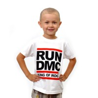 "Футболка детская ""Run DMC: King Of Rock"""