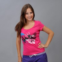 "Футболка женская ""Urban"" (pink)"